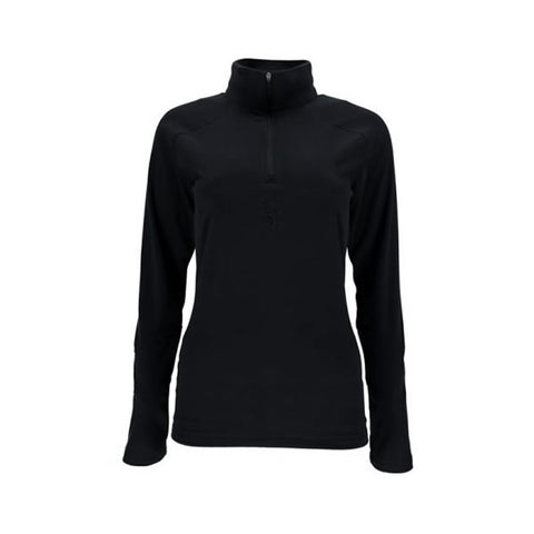 Spyder Ladies Shimmer T-Neck Black