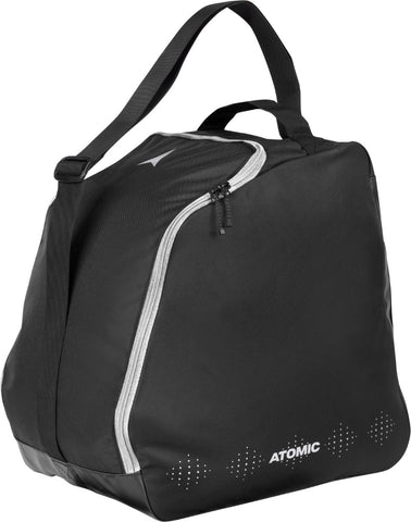 Atomic Cloud W Boot Bag in Black and Silver