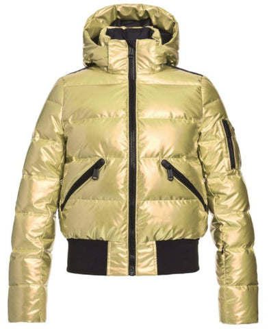 Goldbergh AURA Womens Ski Jacket in Gold