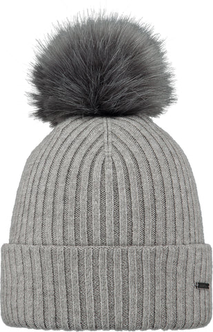 Barts Kenzie Beanie Heather Grey