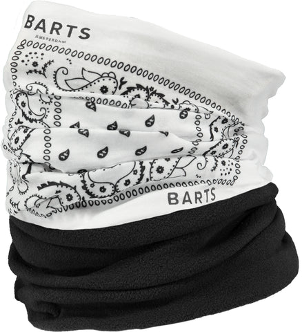 Barts Multicol Polar Neck Gaiter Paisly White