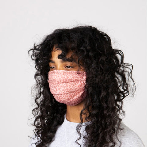 Barts Protection Face Mask 2 Pack in Pink Person