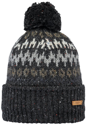 Barts Eljar Beanie in Dark Heather