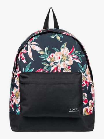 Roxy Be Young 24L Backpack in Anthracite Wonder Garden