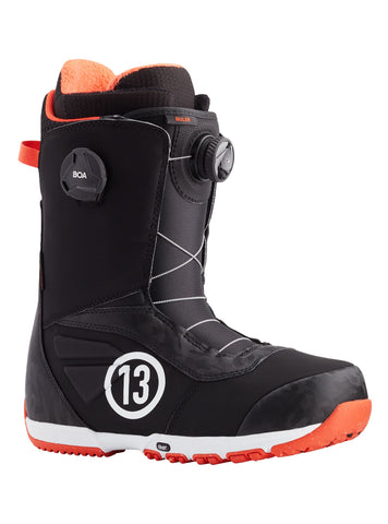 Burton Ruler Boa Snowboard Boot in Black/Red