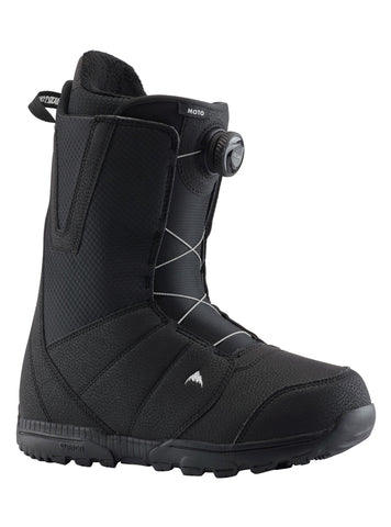 Burton Moto Boa Snowboard Boot in Black