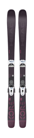 Head Kore 87 W ski with Attack 11 binding in 162cm