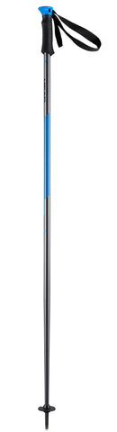 Head Multi S Ski Pole in Anthracite/Blue 125cm
