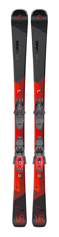 Head V-Shape V6 Skis with PR 11 bindings in 170cm
