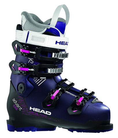 Head Advant Edge 75 W Ski Boot in Violet & Black