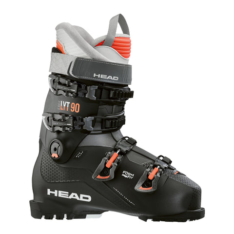 Head Edge LYT 90 W Ski Boot in Black and Salmon