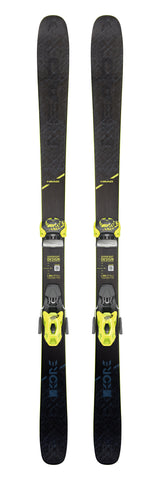 Head Kore 93 ski with Attack²  11 bindings in 162cm