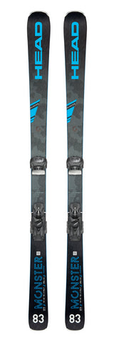 Head Monster 83 Ti skis with Attack² 11 bindings in 163cm