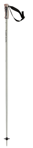 Head Ski Pole Multi in Brushed Aluminium 125cm