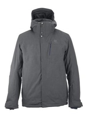 Salomon Fantasy Mens Ski Jacket in Forged Iron