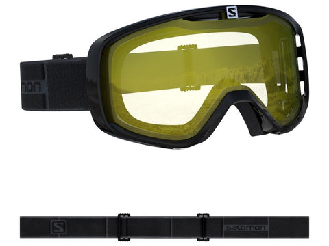Salomon Aksium Snow Goggle Black with Light Yellow