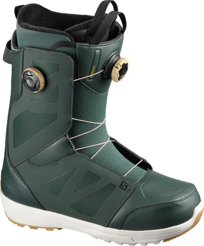 Salomon Launch Boa Snowboard Boots Green