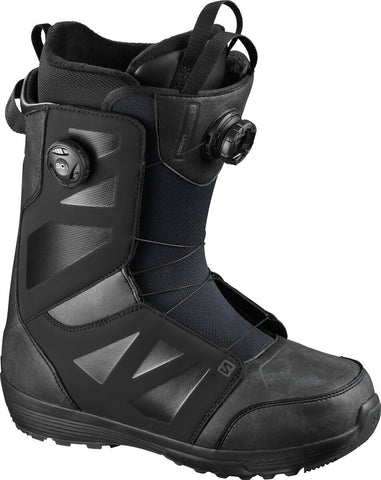 Salomon Launch Boa Snowboard Boots Black
