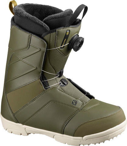 Salomon Faction Boa Snowboard Boots Olive
