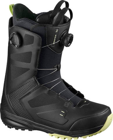 Salomon Dialogue Dual Boa Snowboard Boots Black