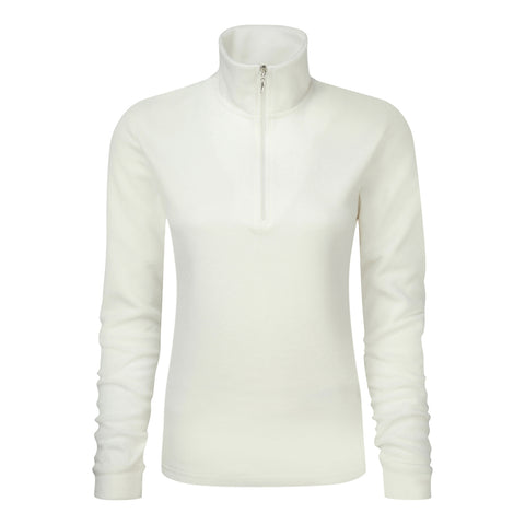 Women's Thermal Micro Fleece in Ecru