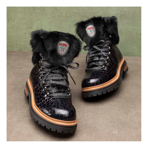 Olang Imperial LUX WTX Womens Snow Boot in Black
