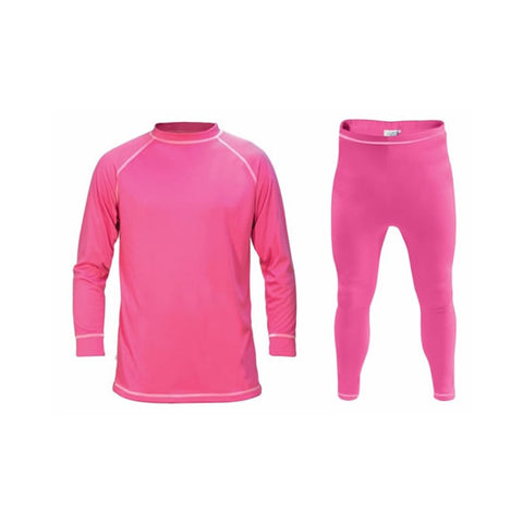 Supatherm Kids Top & Bottom Thermal Set Fuchsia