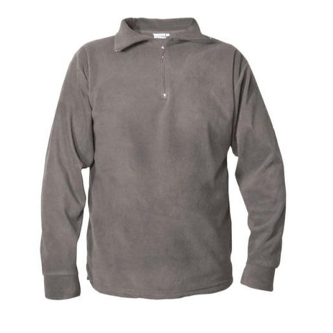 Mens Thermal Micro Fleece Steel Grey