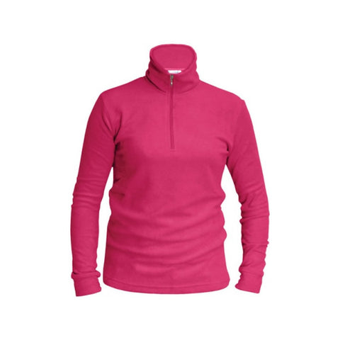 Ladies Thermal Micro Fleece Magenta
