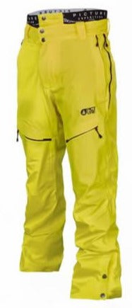Picture Organic Clothing Naikoon Mens Snow Pant in Yellow