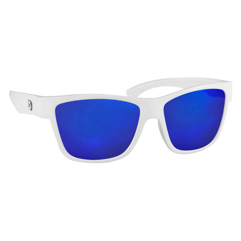 Fuse sunglasses in White/Blue