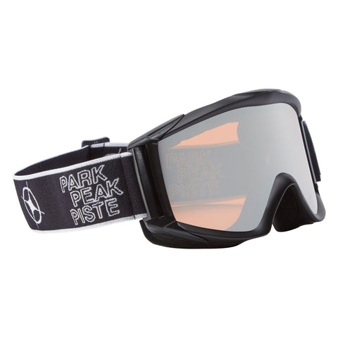 Apollo Ski goggles in Black/Silver