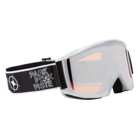 Apollo Ski goggles in White/Silver