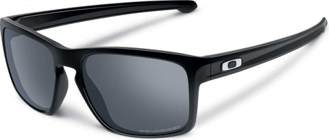 Oakley Sliver in Polished Black with Black Iridium Polarized Lens