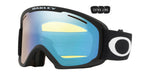 Oakley O Frame 2.0 Pro XL in Matte Black with Hi Yellow Iridium and Dark Grey Lenses