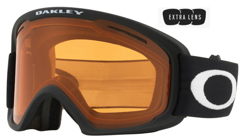Oakley O Frame 2.0 Pro XL in Matte Black with Persimmon and Dark Grey Lenses oo7112-02