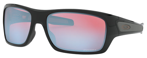 Oakley Turbine in Polished Black with Prizm Sapphire