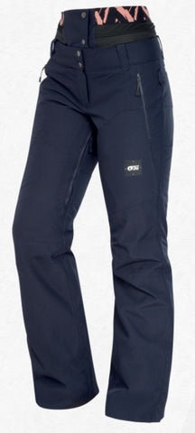 Picture Organic Clothing Women's EXA PT Snow Pants in Dark Blue