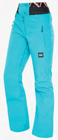 Picture Organic Clothing Women's EXA PT Snow Pants in Light Blue
