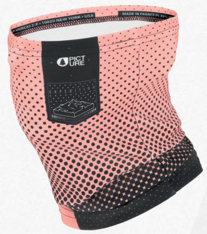 Picture Organic Clothing Neck Warmer in Pink Logo