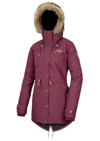 Picture Katniss Womens Jacket in Burgundy