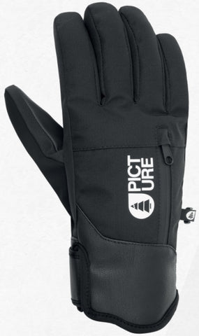 Picture Organic Clothing Men's Madson Snow Gloves in Black
