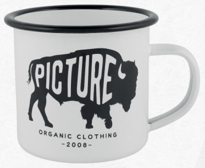 Picture Organic Clothing Sherman Metal Cup in White