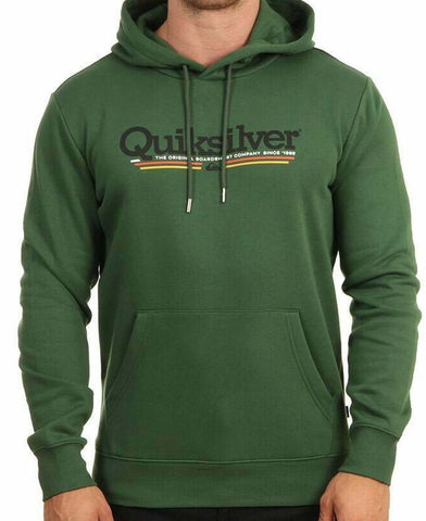 Quiksilver Tropical Lines Hoodie for Men in Greener Pastures front