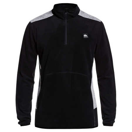 Quiksilver Aker HZ Fleece in Black