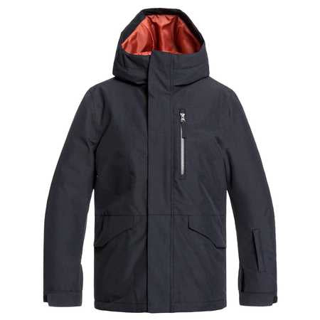 Quiksilver Mission Boys Jacket in Black