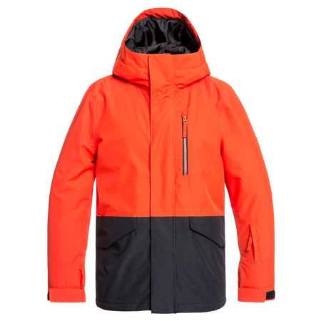 Quiksilver Mission Boys Jacket in Poinciana