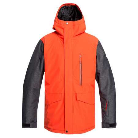 Quiksilver Mission Mens Jacket in Poinciana