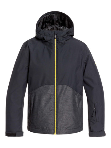 Quiksilver Sierra Boys Jacket in Black