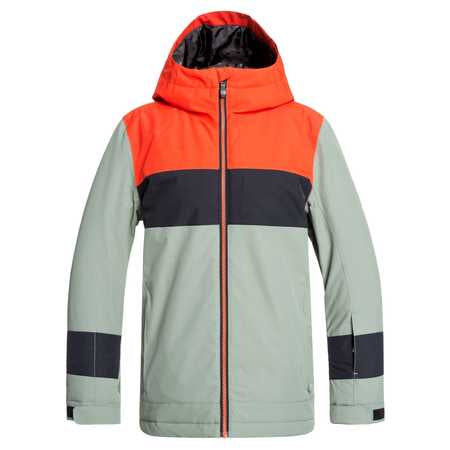 Quiksilver Sycamore Boys Jacket in Agave Green